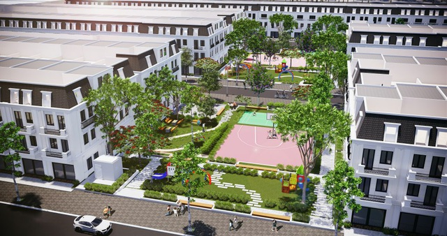 Dự án nhà liền kề Phú Gia cạnh công viên 2000m2 hút khách với giá chỉ từ 2 tỷ đồng